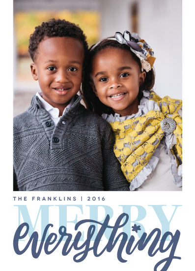 holiday photo cards - Trill by Snow and Ivy