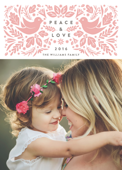 holiday photo cards - Peace Doves by Jennifer Lew
