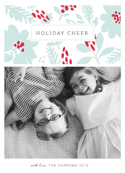 holiday photo cards - Holiday Daydream by Sharon O.