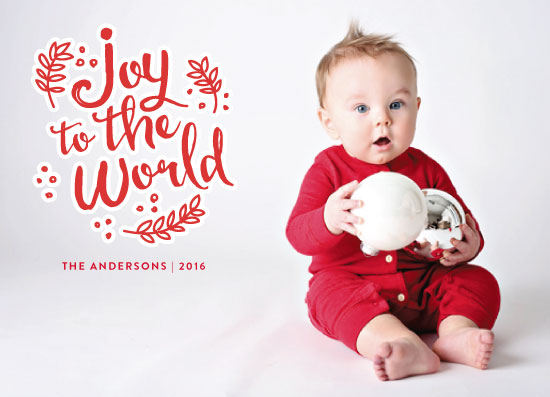 holiday photo cards - It's a joy by iamtanya