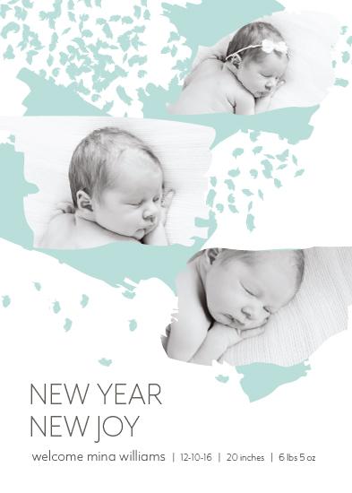 holiday photo cards - Baby Joy by Tiki Keller