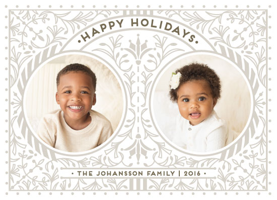 holiday photo cards - LEDA by Melanie Kosuge