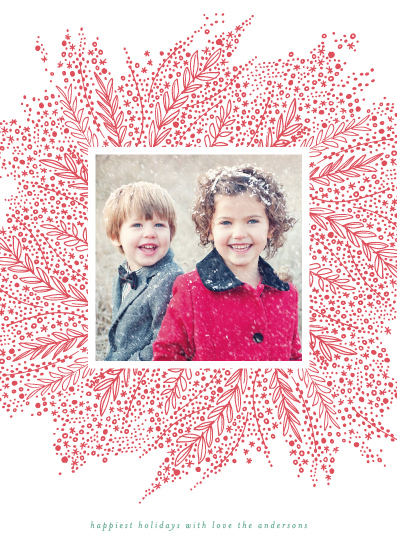 holiday photo cards - Burst by Phrosne Ras