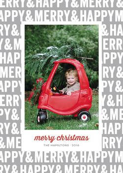 Merry & Happy Holiday