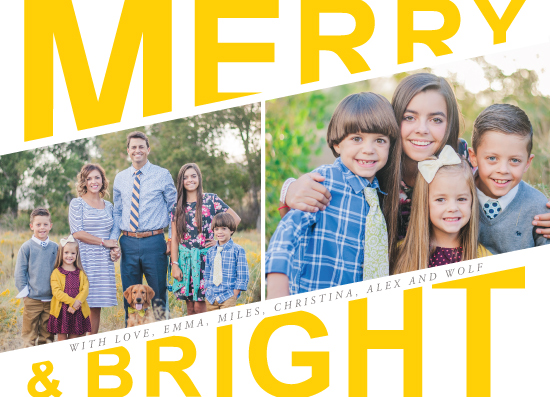 holiday photo cards - Happy and Great by Stellax Creative