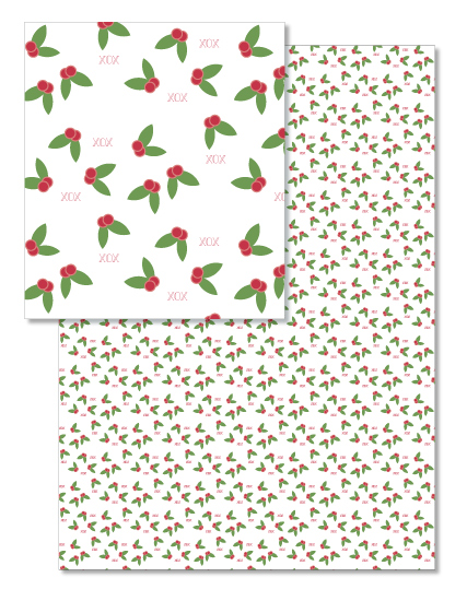 design - Kisses Under the Mistletoe by Harmony Cornwell