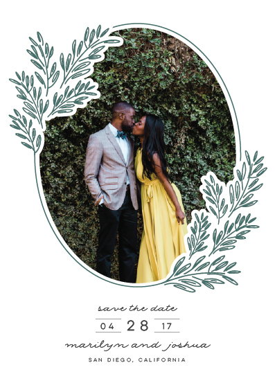 save the date cards - Growing Together by Annie Montgomery