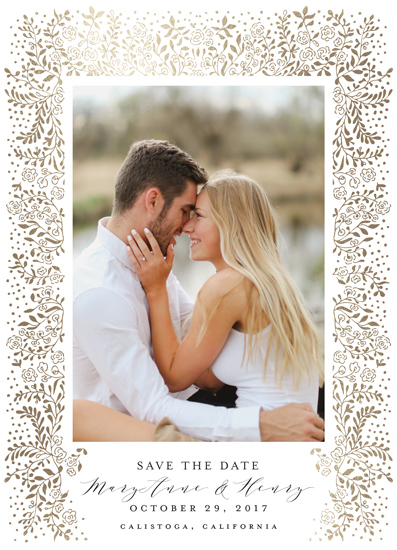save the date cards - Unchained Melody by Chris Griffith