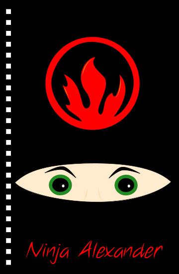 design - Hot Lava Ninja by Patterned Pomegranate