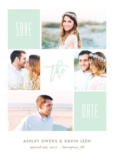 save the date cards - Framed Up by Jennifer Postorino