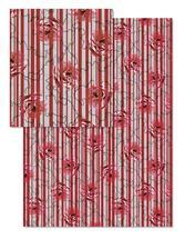 Rosy Stripe by Nikky Starrett
