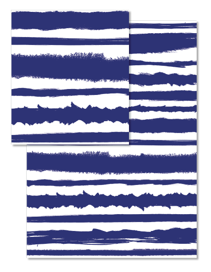 design - Indigo Stripes by Studio Guerassio