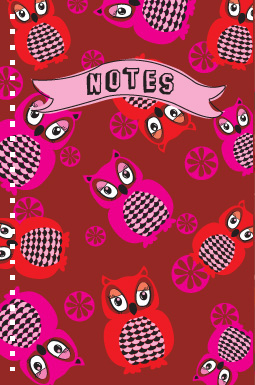 design - Owl Write it Down by Milena Martinez