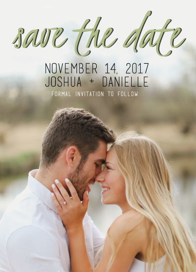 save the date cards - Seasons of Love by Michelle Shutt