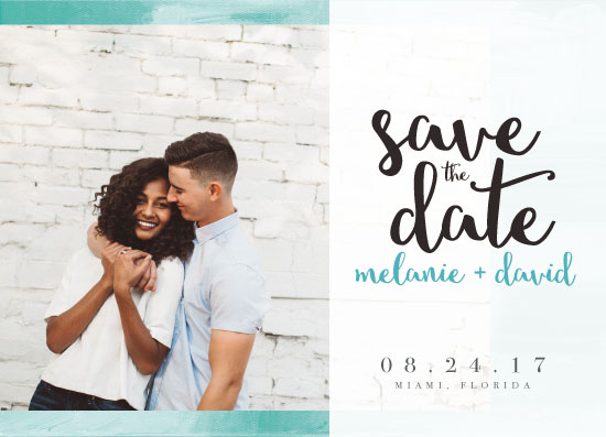save the date cards - Artsy Chic by Michelle Shutt