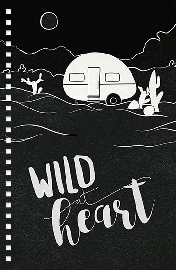 design - Wild Desert Heart by Viper Paper Co.