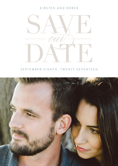 save the date cards - Simply Stated by Eric Clegg