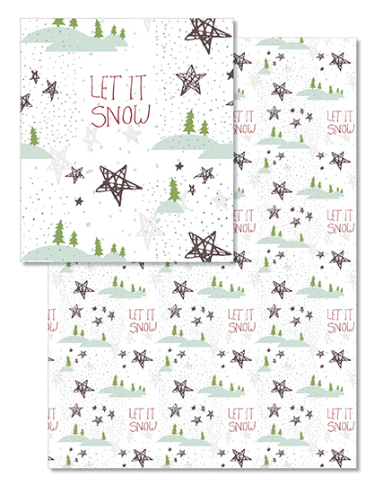 design - Let it snow today by Bianca Stanton