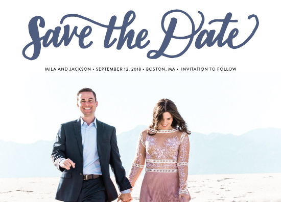 save the date cards - Bold Love by Nicole Barreto