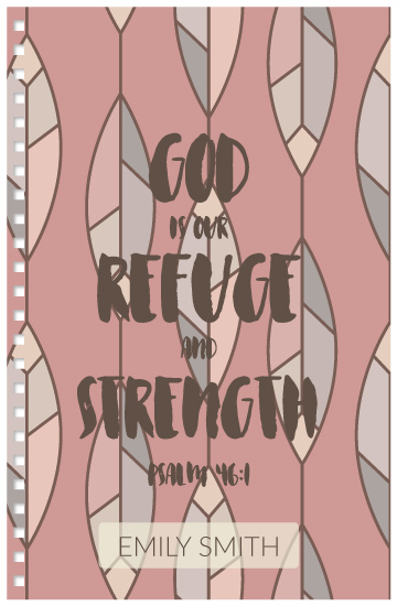 design - God is our Refuge by Hollie Shepard