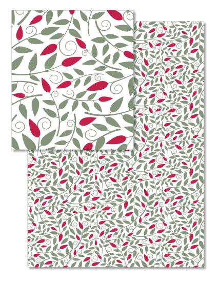 design - Christmas Vines by Cavell Ferguson
