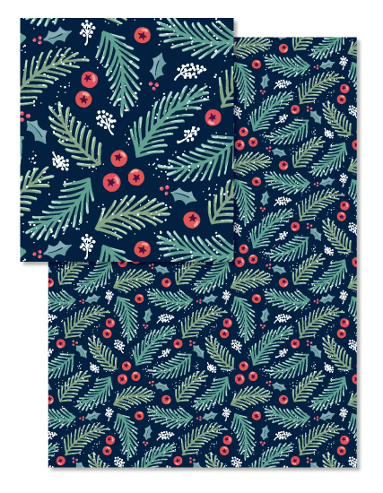 design - Festive Foliage by Hooray Creative