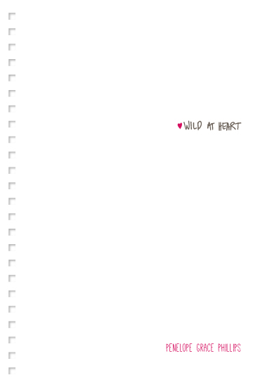 design - Minimalist Wild At Heart by Carrie