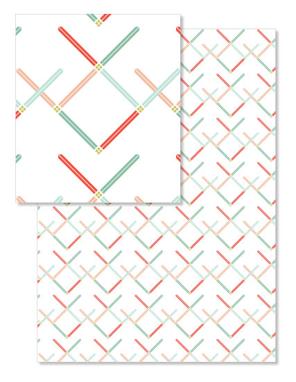 design - Geometric Christmas by Morgan Urness