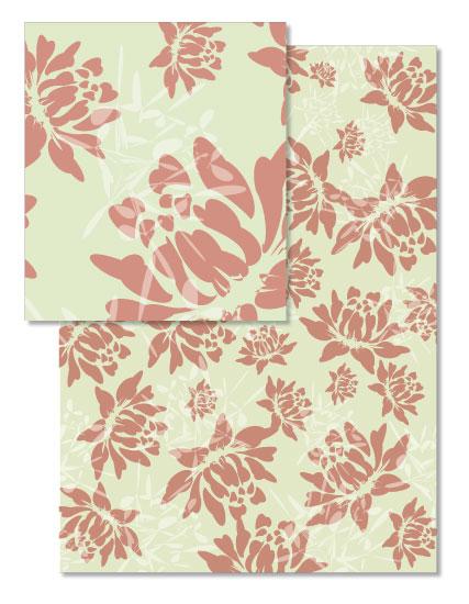 design - flower bloom by Chi