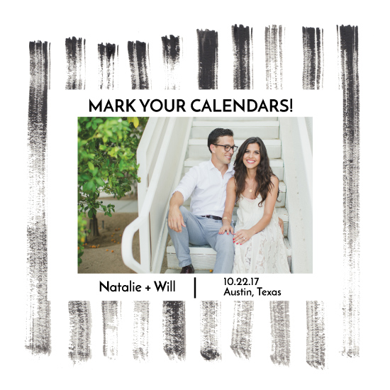 save the date cards - Mark your Calendars by Hannah Langford