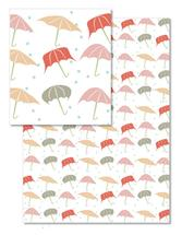 Umbrellas in the rain by Chi