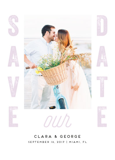 save the date cards - Simply Beautiful by iamtanya