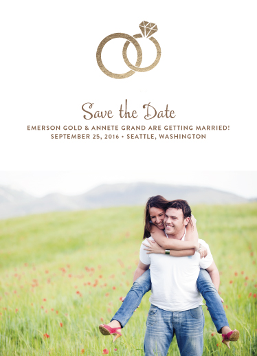save the date cards - chic and classy by ashnee eiram