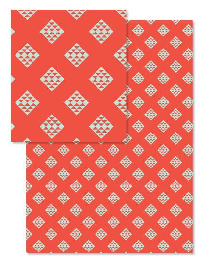design - Aztec Christmas by Morgan Urness