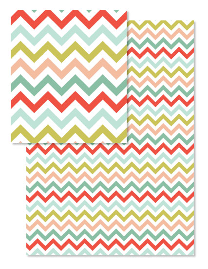 design - Chevron Christmas by Morgan Urness