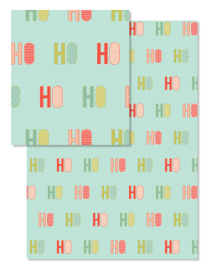 design - Christmas Ho Ho Ho by Morgan Urness