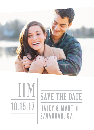 save the date cards - Elegant Angles by Teresa Daniel