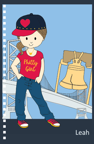 design - Philly Girl by Stacey Montgomery