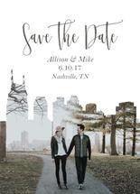 Nashville Save the Date by Teresa Daniel