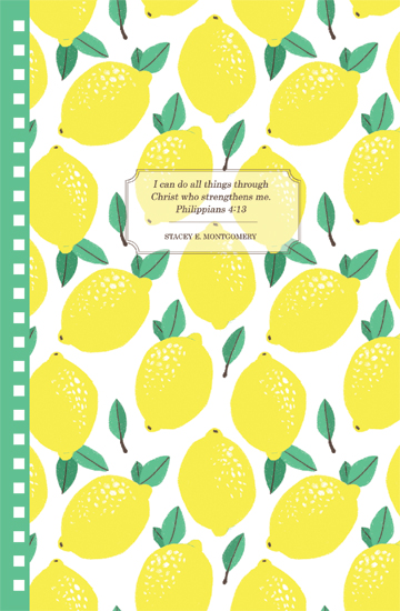 design - Lemons to lemonade by Stacey Montgomery