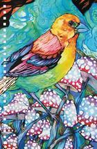 Bird and Mushrooms by Natasha Price