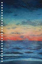 Sunset on the Ocean by Natasha Price