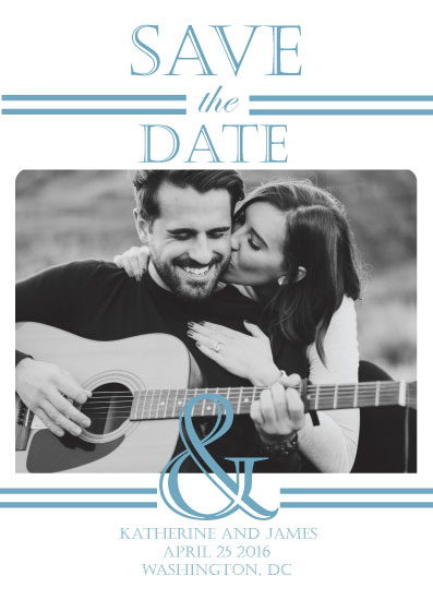 save the date cards - You & Me by Jackson Seagrist
