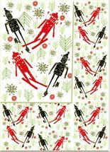 Winter Snowbots by marcia biasiello