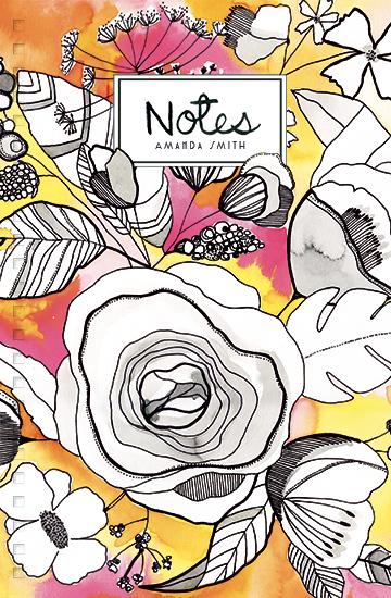 design - Romantic Flowers by Maria Montiel