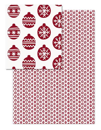 design - Festive wrap by Retroactive Studios