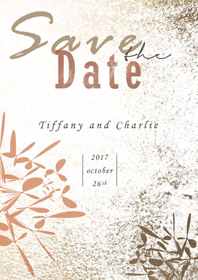 save the date cards - Love in Autumn by Chi