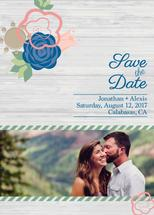 Rustic Save the Date by Michelle Scobell