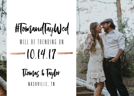save the date cards - #SaveTheDate by Teresa Daniel