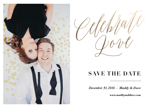 save the date cards - Celebrate Love by Sarah Hunt Rothenberg
